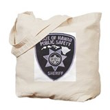 Hawaii Sheriff Tote Bag