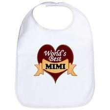 Cute World's best mimi Bib