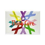 Think Cure Rectangle Magnet