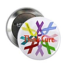 "Think Cure 2.25"" Button (100 pack)"