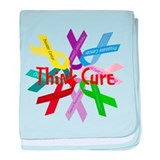 Think Cure baby blanket
