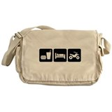 Eat Sleep ATV Messenger Bag