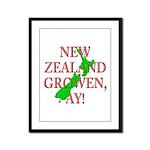 NZ Growen Framed Panel Print