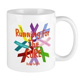 Running for the CURE.png Mug