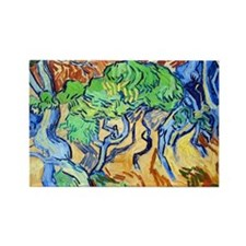 Van Gogh Rectangle Magnet