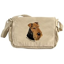 Airedale Terrier Good Dog Messenger Bag