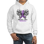 Butterfly Pancreatic Cancer Hooded Sweatshirt