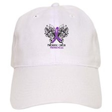 Butterfly Pancreatic Cancer Baseball Cap
