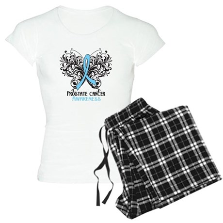 Butterfly Prostate Cancer Women's Light Pajamas