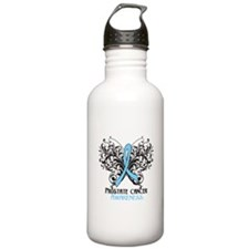 Butterfly Prostate Cancer Sports Water Bottle
