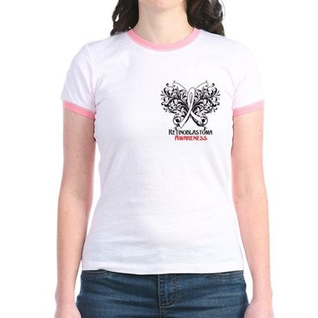 Butterfly Retinoblastoma Jr. Ringer T-Shirt