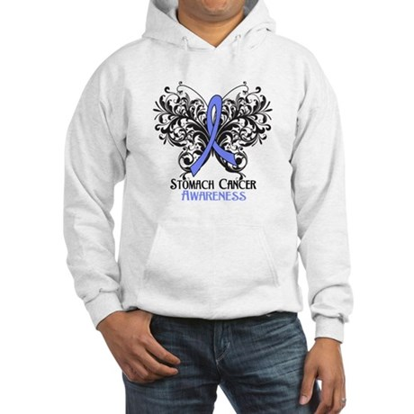 Butterfly Stomach Cancer Hooded Sweatshirt