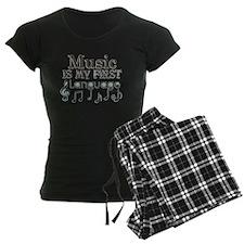 Music is my first Language Pajamas