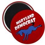 Maryland Democrat Donkey Magnet