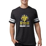 VooDoo Kitty Organic Men's Fitted T-Shirt (dark)