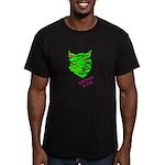 VooDoo Kitty Men's Fitted T-Shirt (dark)