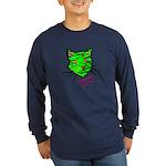 VooDoo Kitty Long Sleeve Dark T-Shirt