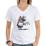 Bigfoot Riding a Unicorn Shirt