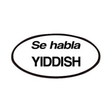 Se Habla Yiddish Patches