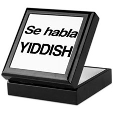 Se Habla Yiddish Keepsake Box
