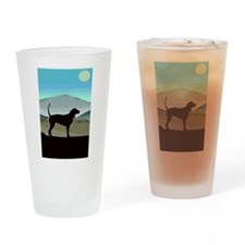 Blue Hills Coonhounds Drinking Glass
