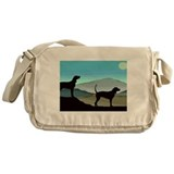 Blue Hills Coonhounds wd5.jpg Messenger Bag