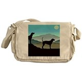 Blue Hills Coonhounds sq.jpg Messenger Bag
