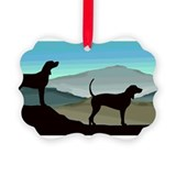 Blue Hills Coonhounds wd4.jpg Picture Ornament