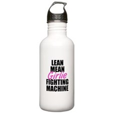 Girlie fighting machine Water Bottle