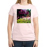 Key West Florida Flock of Fla Women's Pink T-Shirt