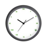 Legalize Marijuana Cannabis Flag Wall Clock