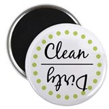 Dishwasher Magnet_Lime Green Magnet