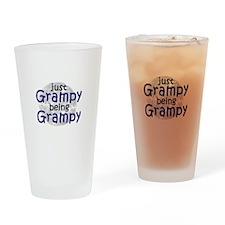 Grampy being Grampy! Drinking Glass