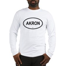 Akron (Ohio) Long Sleeve T-Shirt