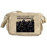Welcome To Democracy Messenger Bag