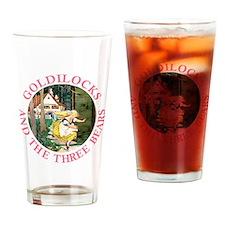 Goldilocks and the Three Bears Drinking Glass