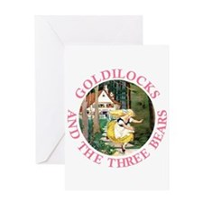 Goldilocks and the Three Bears Greeting Card