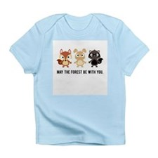May the Forest Be With You Baby Shirt