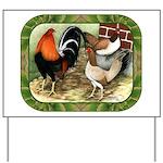 Barnyard Game Fowl Yard Sign