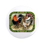 "Barnyard Game Fowl 3.5"" Button (100 pack)"