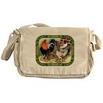 Barnyard Game Fowl Messenger Bag