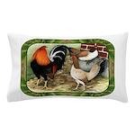 Barnyard Game Fowl Pillow Case