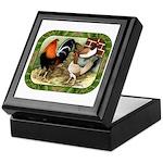 Barnyard Game Fowl Keepsake Box