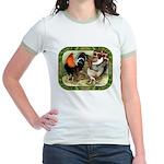 Barnyard Game Fowl Jr. Ringer T-Shirt