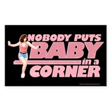 Nobody Puts Baby in a Corner Stickers