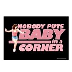 Nobody Puts Baby in a Corner Postcards (Package of