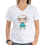 Sister of the Groom Stick Figure  Shirt