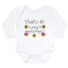 Unique Nana and papa Long Sleeve Infant Bodysuit