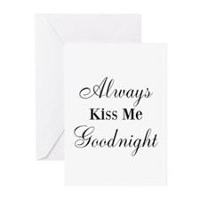 Always Kiss Me Goodnight Greeting Cards (Pk of 20)