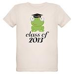 Class of 2013 Frog Organic Kids T-Shirt